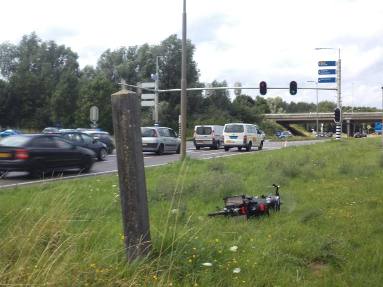 Grenspaal Huissen-Arnhem