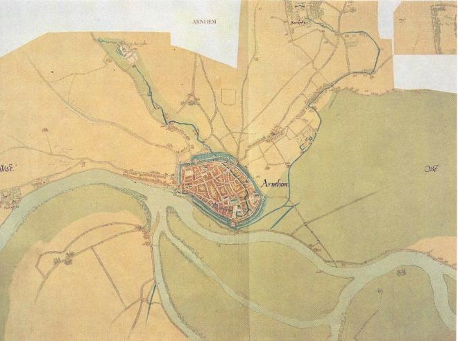 Kaart Jacob van Deventer