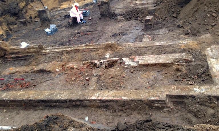 Opgravingen Dullertstraat
