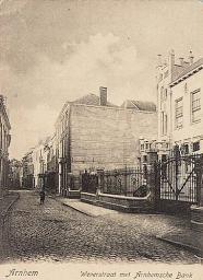 Weverstraat rond 1900