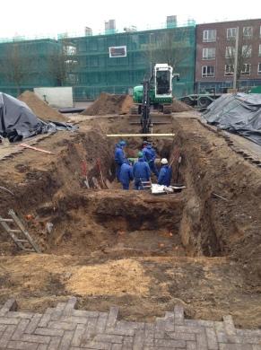 Opgravingen Kerkplein