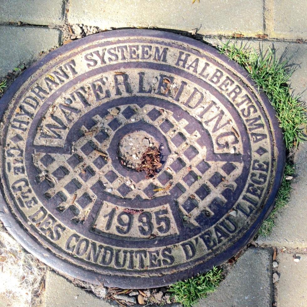 deksel waterleiding 1935