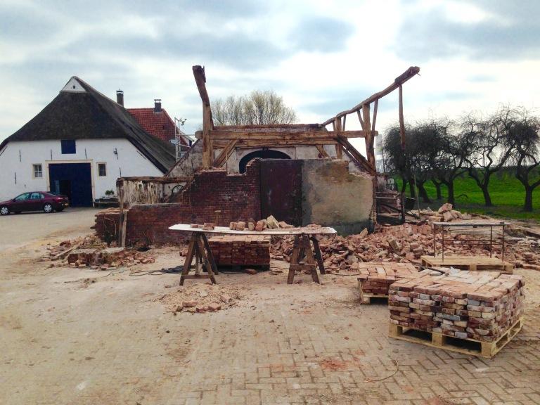 Renovatie stal IJsseloord
